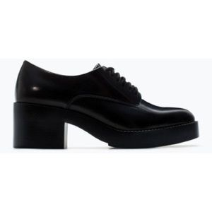 Zara Blucher Oxford black size 36/6 lace up